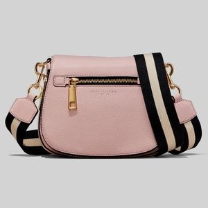 MARC JACOBS Small Nomad Leather Crossbody - Blush